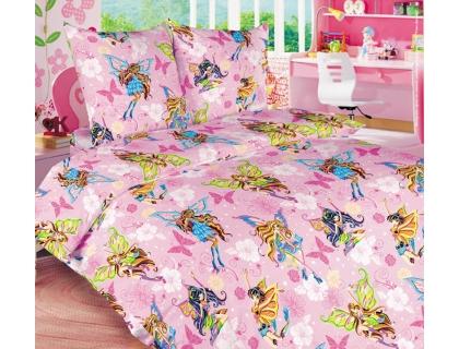 Детский комплект постельного белья из бязи Текс Дизайн Волшебницы  (1,5-спальный)