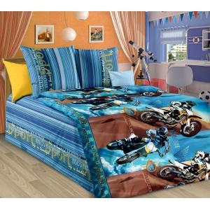 Детское постельное белье Текс Дизайн Драйв  (1,5-спальное, бязь)