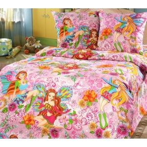 Детское постельное белье Текс Дизайн Добрые феи  (1,5-спальное, бязь)
