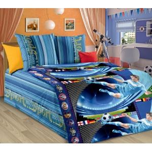 Детское постельное белье Текс Дизайн Пенальти  (1,5-спальное, бязь)
