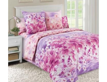 Семейный комплект постельного белья из перкаля Текс-Дизайн Диана