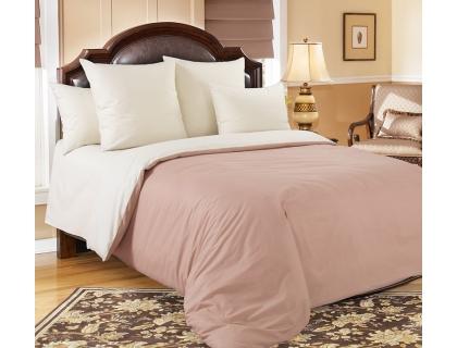 Семейный комплект постельного белья из перкаля Текс-Дизайн Какао