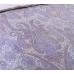Семейный комплект постельного белья из сатина Текс-Дизайн Кашмир (фиолетовый, с компаньоном)