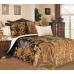 Семейный комплект постельного белья из сатина Текс-Дизайн Музей (черный)
