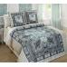 Семейный комплект постельного белья из сатина Текс-Дизайн Неаполь