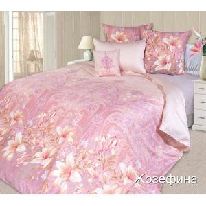 Постельное белье Текс-Дизайн Жозефина (семейное, сатин, розовый)