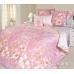 Семейный комплект постельного белья из сатина Текс-Дизайн Жозефина (розовый)
