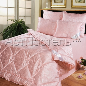 2-спальное одеяло из козьего пуха (шерсти) Артпостель Премиум