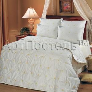 2-спальное одеяло из овечьей шерсти Артпостель Премиум